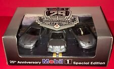 1999 MOBIL 1 - 25th ANNIVERSARY DREAM LEASE CAR SET VETTE / MERCEDES / PORSCHE
