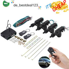 Car 2 Remotes Central 4 Door Locking Vehicle Keyless Entry System Kit Universal