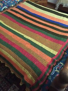 Vintage Knitted Bedspread
