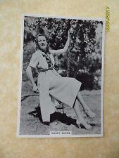 Modern Beauties Fifth Series #23 Wendy Barrie 1938 BAT Cigarette Card
