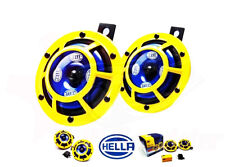 Hella Twin Supertone Horn Kit 003399801 Real Hella Yellow With Free Relay