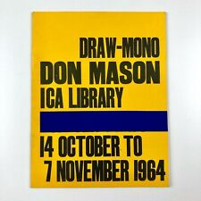 More details for draw-mono don mason | ica library (institute of contemporary arts) 1964
