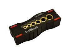 Milescraft  Drill Block  Plastic/Metal  Magnetic  Drill Guide
