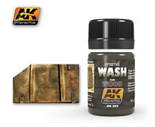 AK WEATHERING WASH FOR WOOD 35ml