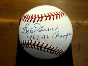 BOBBY DOERR 1967 AL CHAMPS HOF BOSTON RED SOX SIGNED AUTO BASEBALL JSA BEAUTY