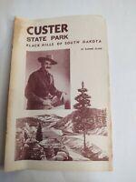 Vintage 1960s Ad Advertising Custer State Park Black Hills Badger Clark Brochure