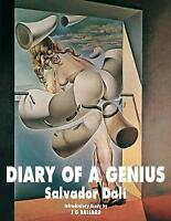 Diary of a Genius by Salvador Dali | Paperback Book | 9781840686791 | NEW