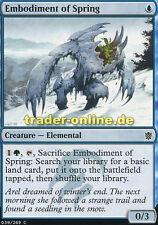 4x Embodiment of Spring (Verkörperung des Frühlings) Khans of Tarkir Magic