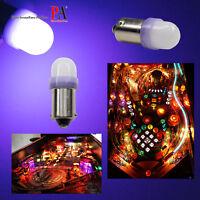PA 20x #1893 #44 #47 #1847 BA9S 2 SMD LED Purple Pinball Machine Light Bulb 6.3V