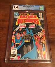 Batman and the Outsiders #1 CGC 9.4⭐️⭐️Classic Cover!⭐️⭐️⭐️