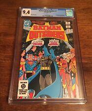 Batman and the Outsiders #1 CGC 9.4⭐️⭐️Classic Cover!⭐️⭐️⭐️