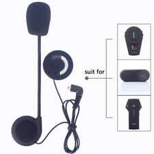 Motorbike Hard Cable Headset Speaker Mic For FDC Bluetooth Motorcycle Intercom