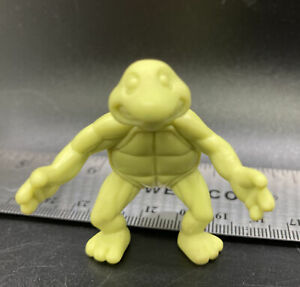 """Vintage 1989 TMNT Retro Mutagen Ooze Slime Can 2"""" Baby Turtle Slime Green, Rare"""