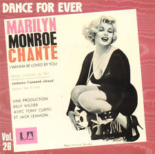 MARILYN MONROE I Wanna Be Loved By You FR Press Liberty 2C008 83377 1983 SP