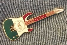Atlanta 1996 Olympic Guitar Pin ~ Italy