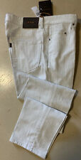 NWT $795 Ermenegildo Zegna Couture Jeans Pants LT Gray 33 US Italy