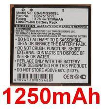 Batterie 1250mAh type EB575152VA EB575152VU Pour SAMSUNG SGH-i917 Focus