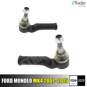 For FORD MONDEO MK4 Track Rod Ends Pair Qty x 2 Outer NEW Tie Rod End