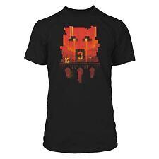 "Minecraft "" Aperçu "" garçons T-shirt mine craft T-shirt Enfants 7-8 ans Noir"