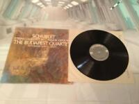 Schubert String Quintet in C Major Opus 163 Budapest Quartet MS-6536 LP NR-Mint