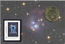 13 AUBAGNE Zodiaque, Encart Gémeaux, 2014, Monnaie de Paris