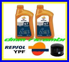 Kit Tagliando PIAGGIO BEVERLY 500 04>05 + Filtro Olio REPSOL 5W40 2004 2005
