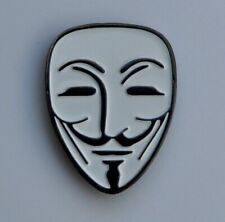 Guy Fawkes Anonymous V For Vendetta Quality Enamel Pin Badge