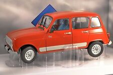 RENAULT 4 GTL CLAN in Red 1/18 scale model by SOLIDO