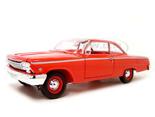 1962 CHEVROLET BEL AIR RED 1:18 DIECAST MODEL CAR BY MAISTO 31641