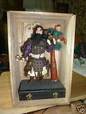 Antique Gofun Japanese Doll in Original Box