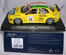 FLY 88114 A-782 SLOT CAR ALFA ROMEO 156 GTA #14 FIA ETCC 2002 PAOLO RUBERTI MB