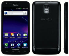 UNLOCKED! AT&T SAMSUNG GALAXY S2 SKYROCKET SGH-I727 4G LTE 16GB BLACK SMARTPHONE