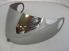 Genuine AXO Visiera Per Casco Da Moto - RR5 / RR6 - ARGENTO A specchio