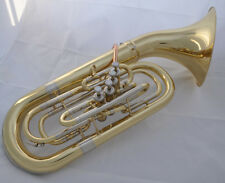 Professional Gold Lacquer  Bb Euphonium 4 Piston 290mm Detached bell  SPECIAL