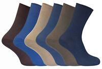 Lot de 6 paires femme non comprimantes en coton chaussettes sans elastique