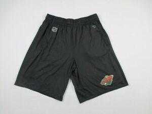 Minnesota Wild Fanatics Shorts Men's Black Poly Used L