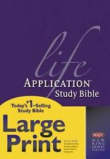 Life Application Study Bible-NKJV-Large Print by Tyndale House Publishers (Engli