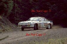 Henri Toivonen Opel Manta 400 RAC Rally 1983 Photograph 1