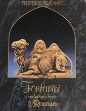 "New Listing1992 Fontanini 52545 Seated Camel Heirloom 5"" Nativity Set Animal Orig Box/Paper"