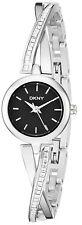 DKNY NY2174 Crosswalk Black Dial Stainless Steel Women's Watch