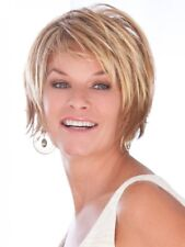 Trendsetter by Toni Brattin Womens Wig Straight Razor Shag Cut Chunky Layers -