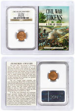 1861-65 Civil War Token F-51/334 a Our Army NGC MS65 RB SKU38948