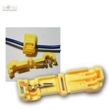 20 Schnellverbinder für Kabelschuhe GELB 4,0-6,0mm² Stromdiebe Klemmverbinder