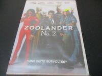 """DVD NEUF """"ZOOLANDER N°2"""" Ben STILLER, Owen WILSON, Will FERRELL, Penelope CRUZ"""