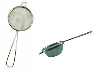 Tea Strainer 7cm Metal Sieve Mesh Kitchen Traditional Loose Leaf Filter Infuser