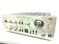 JVC JA-S71 Integrated Stereo Amplifier 160 Watts RMS Vintage 1976 Rare Like New