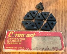 Sandvik Coromant Cemented Carbide Inserts - TNMA 332 - QTY. 11 - NEW!!