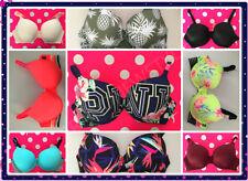 Victoria's Secret PINK wear everywhere 36 C PUSH UP BRA U pick up color NEW