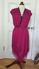 Bought For £300+ BNWT Catherine Malandrino Silk Wrap Dress Size 2 Or UK 8