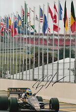 Bruno Senna Hand Signed 12x8 Photo Formula 1 F1.